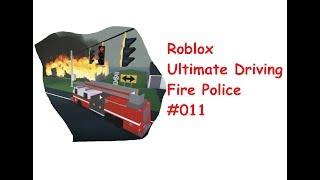 Roblox: Ultimate Driving | Fire Police #011 | Brände löschen auf Odessa!| [Huski/German]