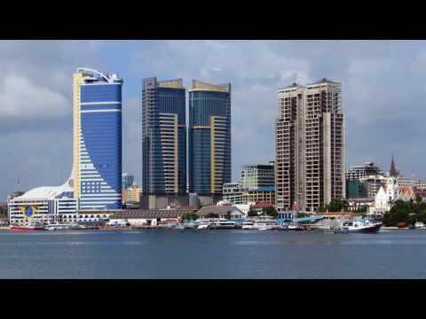 Dar es Salaam, city in Tanzania, sightseeing, hotels, the house of peace