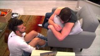 Phil Cries to Raul about his Brother-Big Brother Canada 4