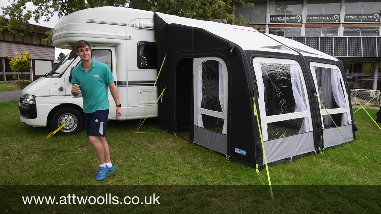 Kampa Motor Rally Air Pro 330 Driveaway Awning Review