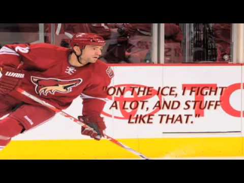 Keith Yandle Interviews Paul Bissonnette