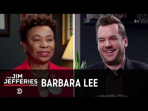 Barbara Lee on Weed, ICE and Betsy DeVos - The Jim Jefferies Show