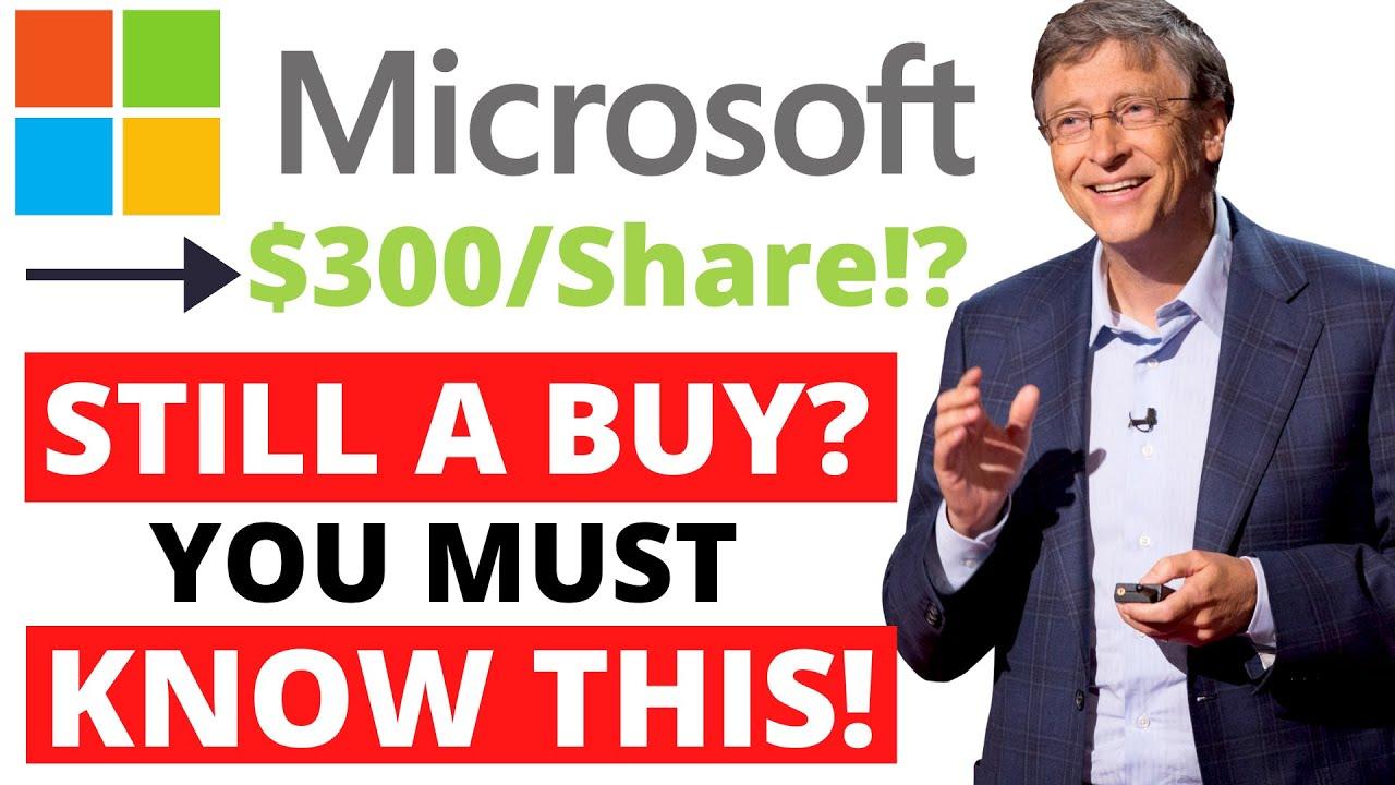 Microsoft Stock Analysis (FULL)   Is Microsoft (MSFT) a ...