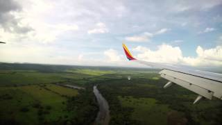 Southwest Airlines Boeing 737-700 First Landing in Liberia, Costa Rica (LIR)