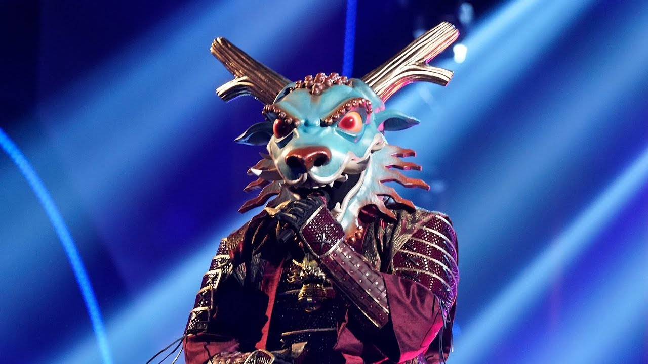 'The Masked Singer' premiere recap: Dragon's fire is extinguished ...