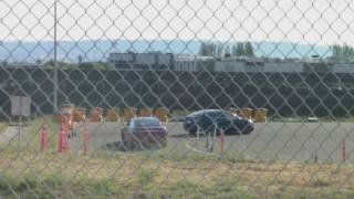 Tesla Model 3 - Broken Down On Test Track?