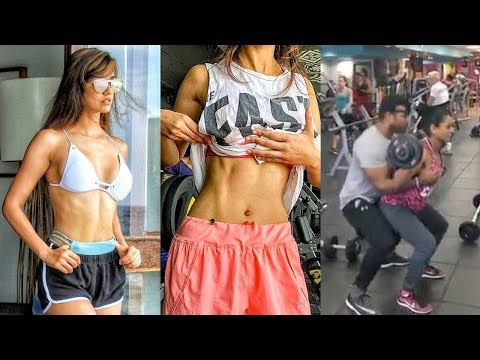 Disha Patani Workout In GYM For Student Of The Year 2 | Tiger Shroff Mp3