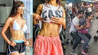 Disha Patani Workout In GYM For Student Of The Year 2 | Tiger Shroff