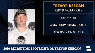 Trevor Keegan: 2019 Michigan Football Recruiting Profile On 4-Star Offensive Tackle From Illinois