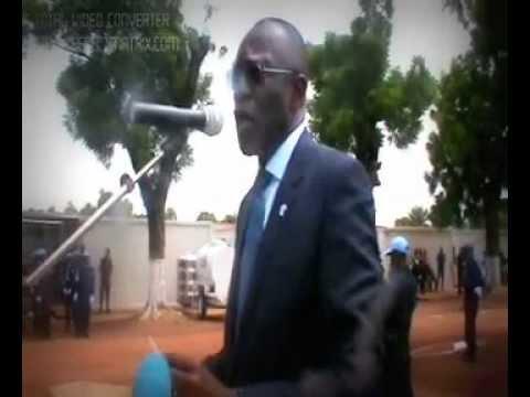 PORT DE MEDAIL DES NATIONS UNIES A LA FPU RDC RCA BANGUI