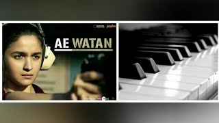 Video Ae watan instrumental casio || Raazi || download MP3, 3GP, MP4, WEBM, AVI, FLV Juni 2018