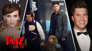 Scarlett Johansson & Colin Jost Taking Their Relationship To The Next Level!   TMZ TV