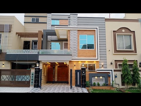 6 Marla 30 45 Beautiful Corner House With Best Interior For Sale In Bahria Town Lahore Youtube