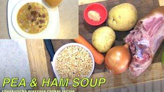 Pea & Ham Soup Cheekyricho Pressure Cooker Video Recipe Episode 1,010
