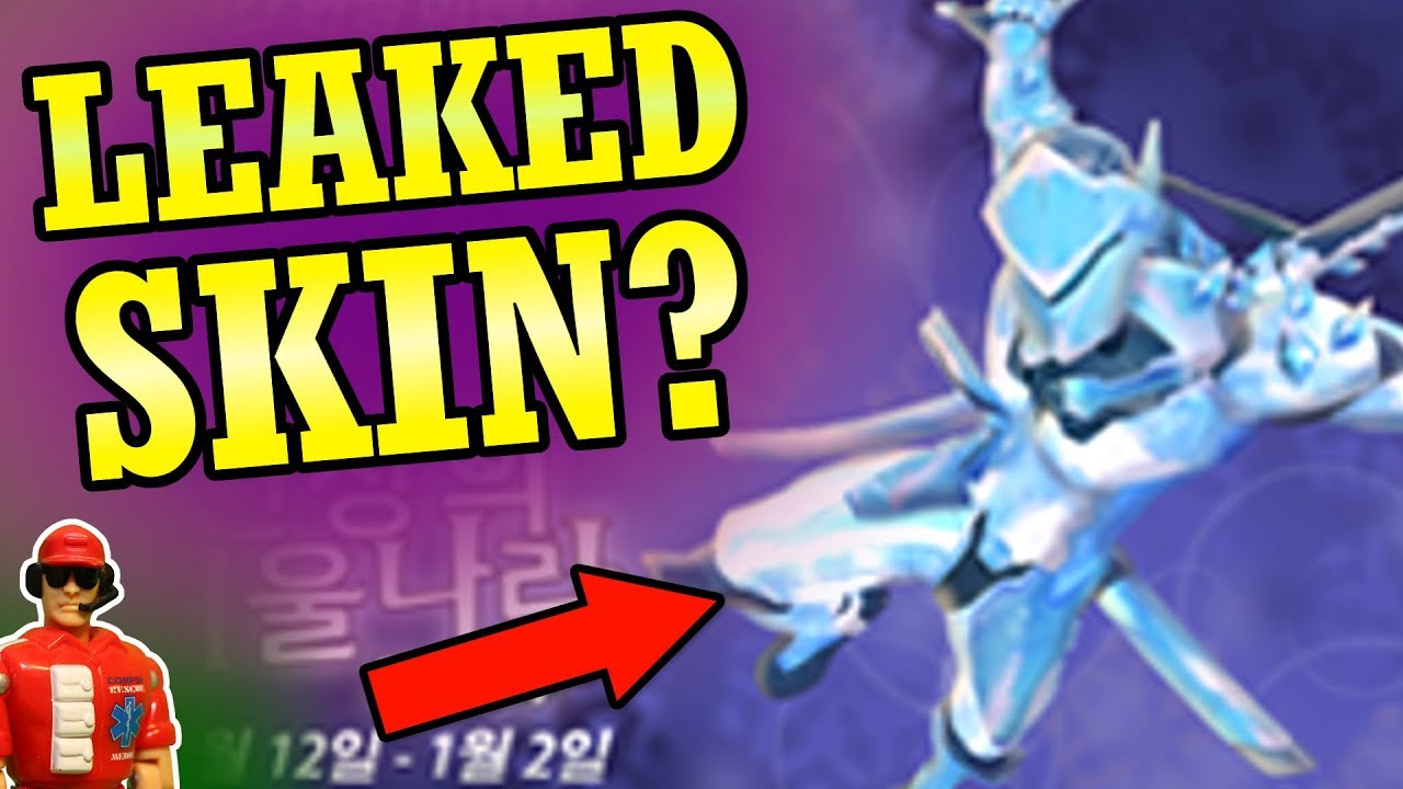 Overwatch Christmas Skins 2020 Leak Overwatch   New Genji Skin Leak?   Winter Wonderland 2017 Event