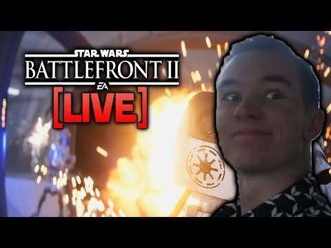 ⚡BATTLEFRONT 2 LIVE - Late-Night Stream Again!