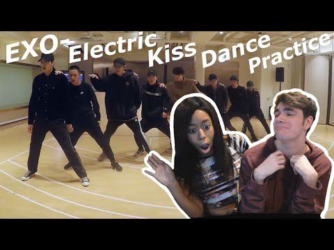 EXO Electric Kiss Dance Practice Reaction!