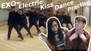 EXO Electric Kiss Dance Practice Reaction!