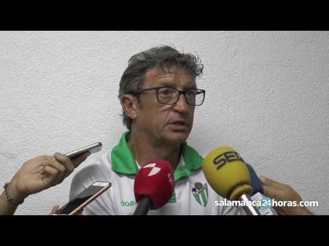 Declaraciones de Jordi Fabregat tras el Salmantino - Guijuelo