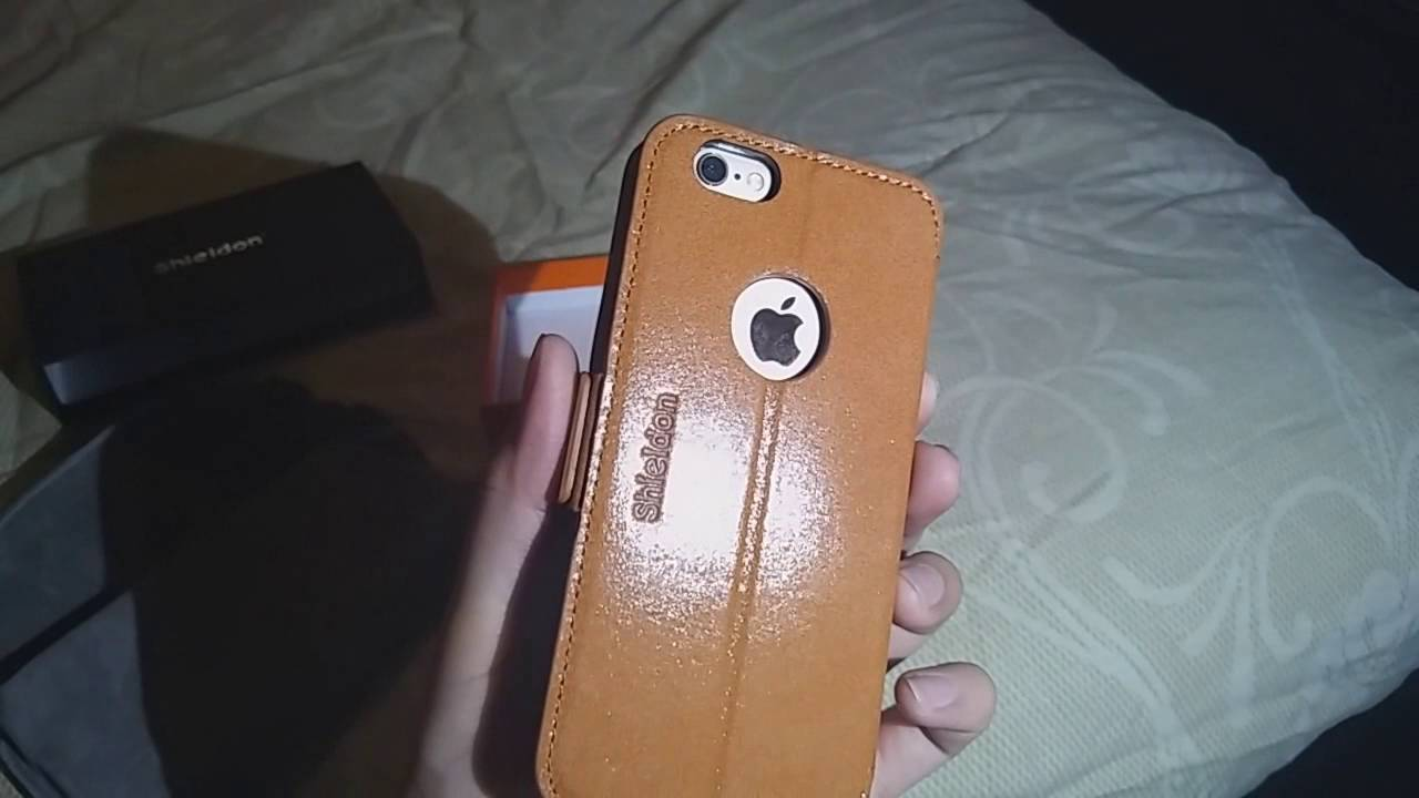 the latest 4aa35 9c8e9 Shieldon IPhone 6/6s Leather Wallet Case Review (HD)