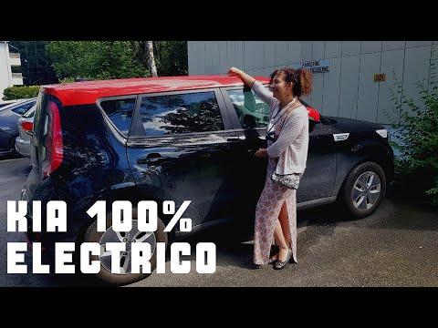 Review KIA SOUL Red And Black 2018 COCHE COREANO 100% ELÉCTRICO, NORUEGA 2019.