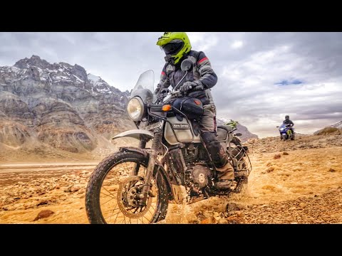 RE Himalayan Review at SPITI Valley