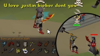 750m+ Gear Distracting Pkers then 1 Hitting Them! (S1E3) - OSRS Pking