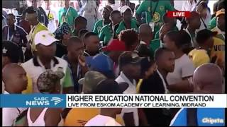 Education Convention descends into chaos  -18 March 2017