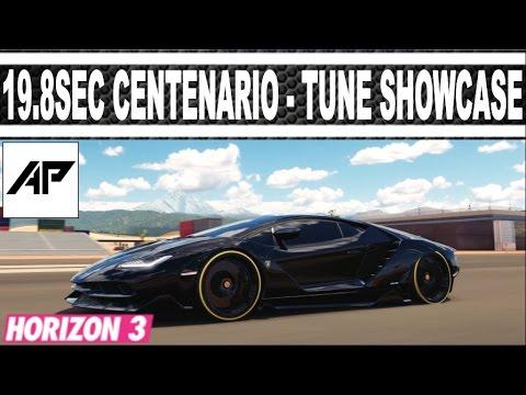 Forza Horizon 3 19 8sec Lamborghini Centenario Drag Tune Tune