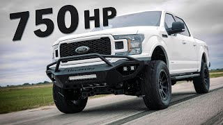 750 HP F-150 Test Drive! // SUPERCHARGED by HENNESSEY