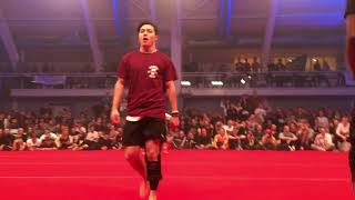 JAPAN VS USA Tricking (martial arts) ( HOOKED 2017)