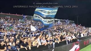 Atalanta Bergamo - Borussia Dortmund 2017/18 (Tifo Curva Nord)