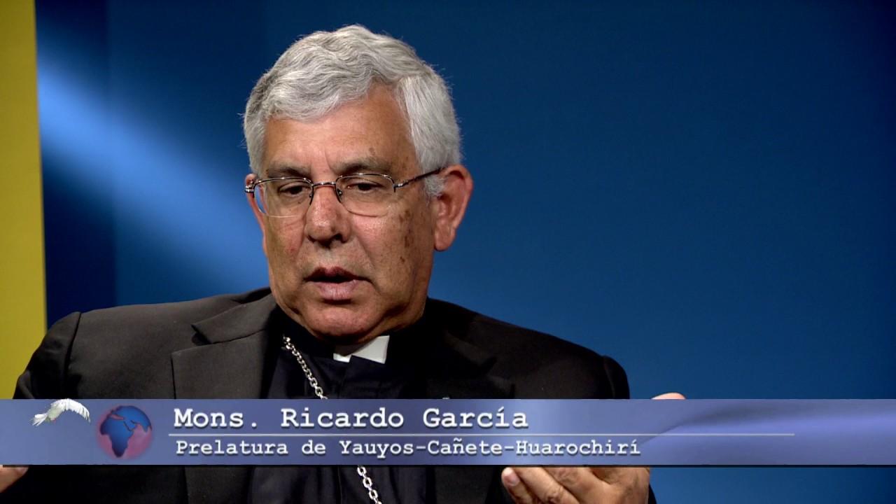 Monseñor Ricardo García, obispo de la Prelatura de Yauyos