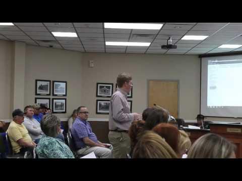 Wilson Central student Preston George discusses Commerce Farms