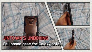 갤럭시노트9 케이스 unboxing(Cell phone…