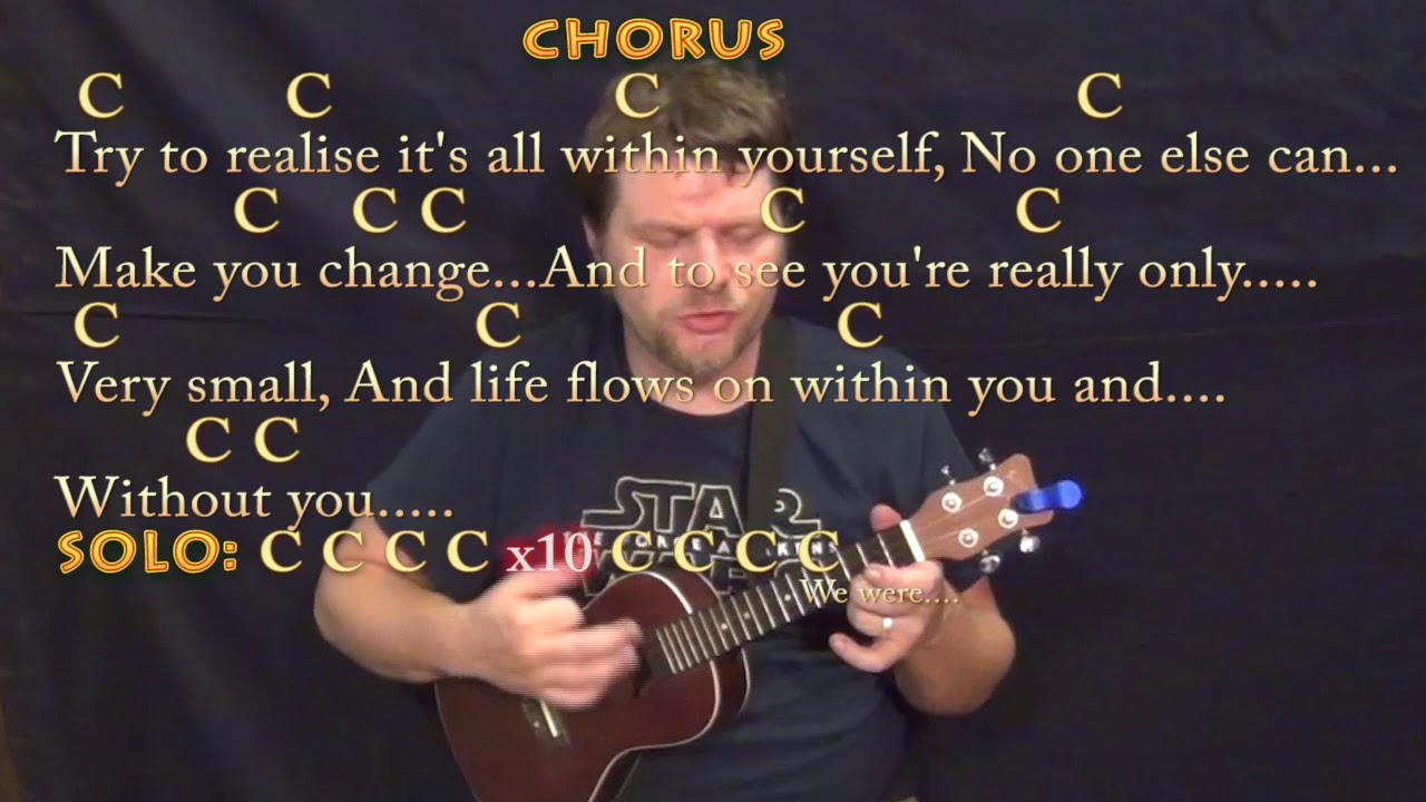 Within you without you beatles ukulele cover lesson in c with within you without you beatles ukulele cover lesson in c with chords lyrics hexwebz Image collections