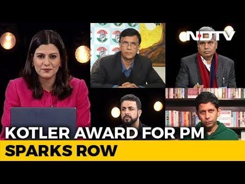 Kotler Award For PM Sparks Row