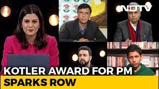 Kotler Award For PM Sparks Row