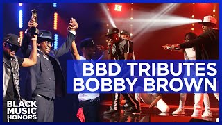 Bobby Brown is honored by Bell Biv DeVoe (BBD) | Black Music Honors