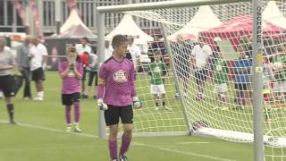 Eintracht Frankfurt Fußballschule - Das große Kaufland WM-Turnier