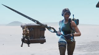 when a default skin gets the sword on Fortnite...