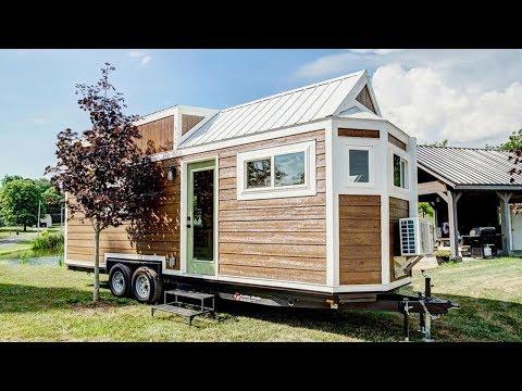 Very Beautiful The Clover Tiny House on Wheels | Lovely Tiny House