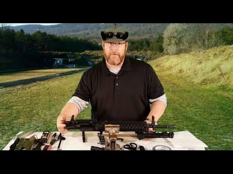 How to Boresight an AR15!!!!  Battlesight Zero AR15 Part One!!