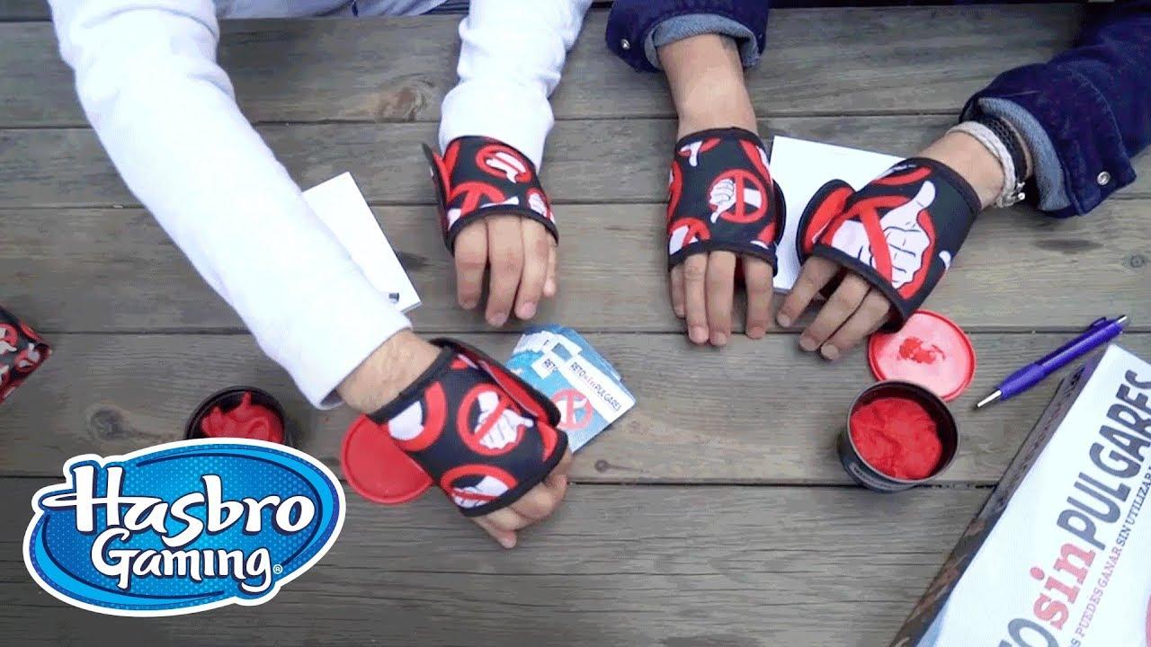 Reto Sin Pulgares Comercial De Tv Hasbro Gaming Latino America