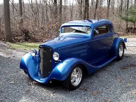 1934 chevrolet 3 window coupe street rod walk around youtube for 1934 chevrolet 3 window coupe