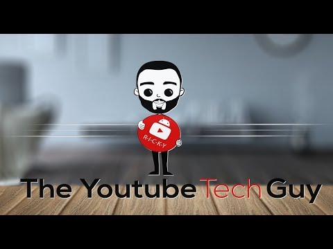 YouTube Tech Guy Channel Intro
