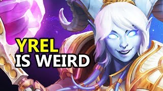 ♥ Yrel Impressions - Heroes of the Storm (HotS Gameplay)