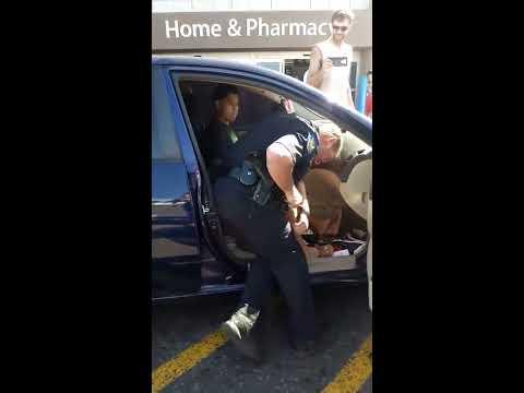 Phoenix Police Hit Woman Resisting Arrest At Walmart