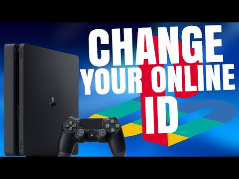 How To Change Your PS4 Gamertag! (Change Your PSN ID)