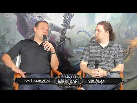 WoW Live Developer Q&A w/ Ion Hazzikostas-7/19/2018